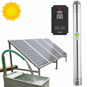 5500 Watt Solar Water Pump, Agriculture Brushless Submersible Deep Well Solar Pump