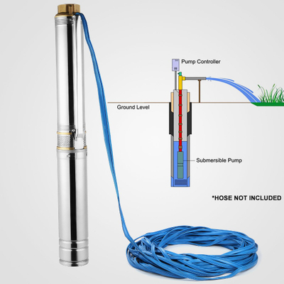 Wholesale Deep Well Pump Small Submersible Pump High Quality Water Pump 1 Inch