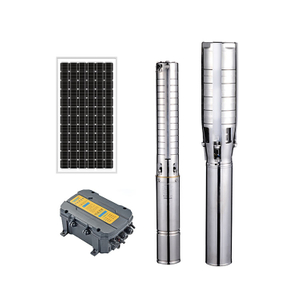 Portable High Head Submersible 300 Meter Deep Well Solar Powered Water Pump For Irrigation
