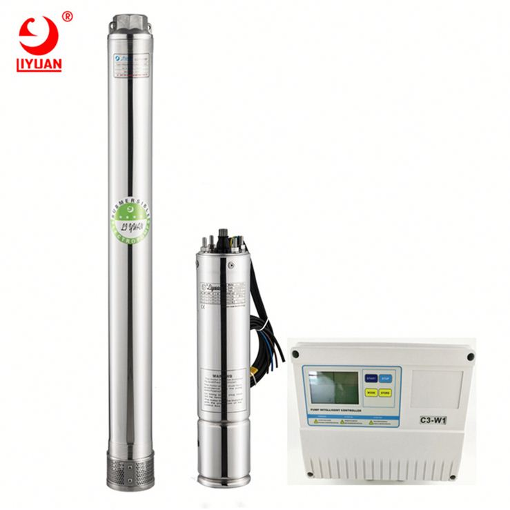 Wholesale High Pressure Ac Submersible Deep Well Pump 4Inch