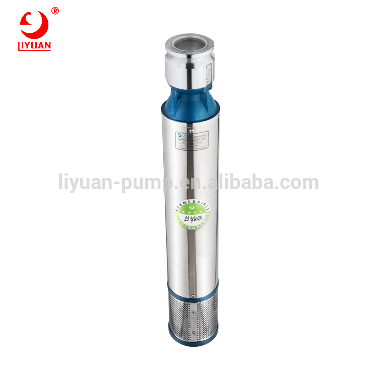 Jiangmen Factory Wholesale Agriculture Irrigation Tools 6 Inch Electric Submersible Water Pump